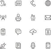 Icon Set, Comunication