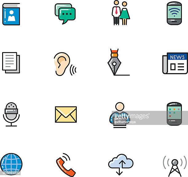 Icon Set, Comunication