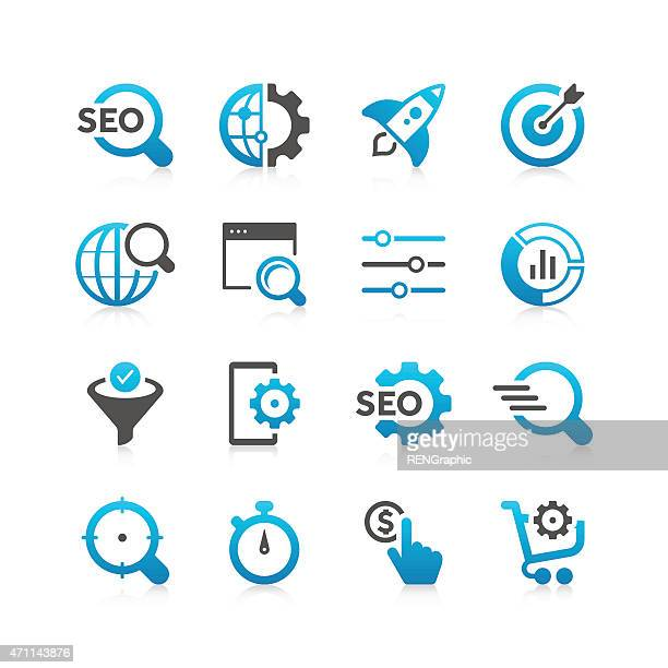 SEO Icon Set | Concise Series