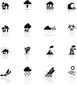 Icon Set, Disasters
