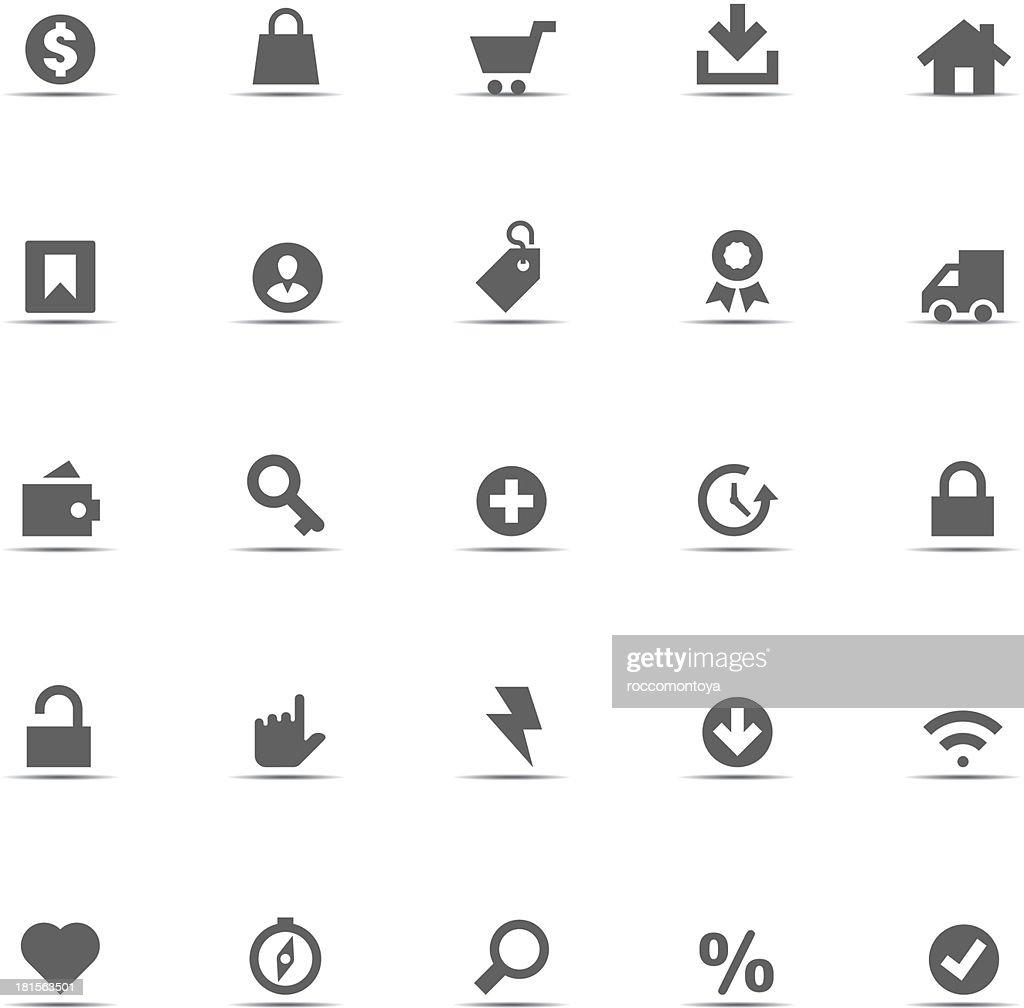 Icon Set, eCommerce