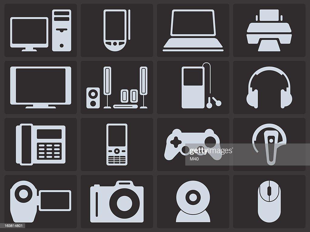Icon Set - Electronics