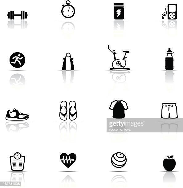 Icon Set, Exercising things