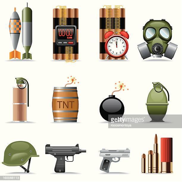 Icon Set, explosives and terrorism