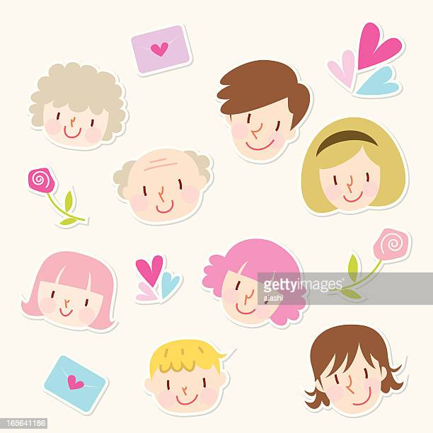 Icon set - Family Love