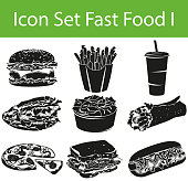 Icon Set Fast Food I