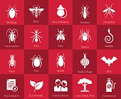Icon set for pest control companies
