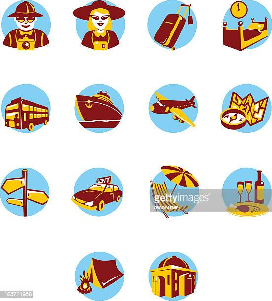 Icon Set for tourism