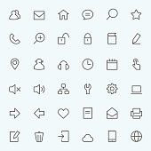 Icon set for web.