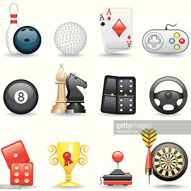 Conjunto de iconos de juegos