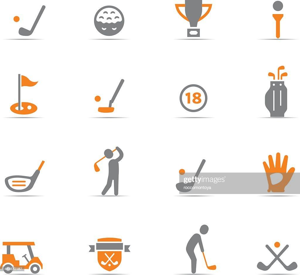 Icon Set, Golf