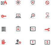 Icon Set, Hacking and security