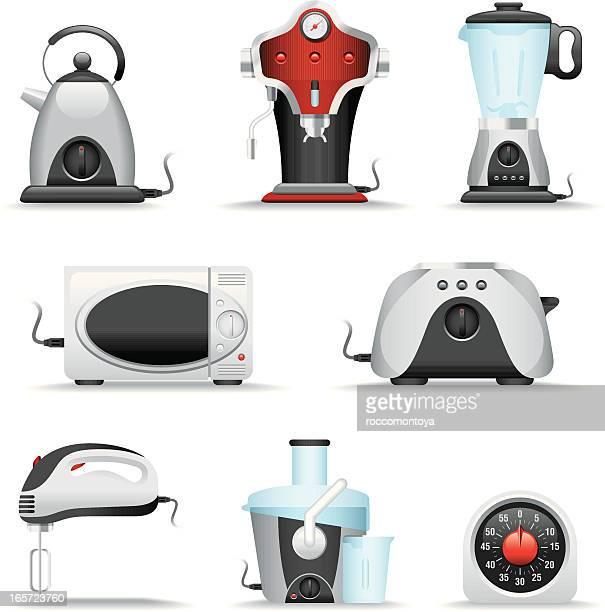 Icon Set, Kitchen Appliance