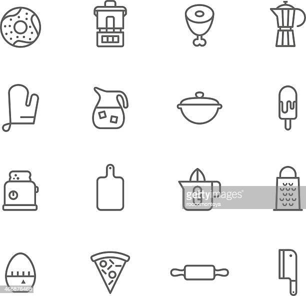 Icon Set, Kitchen