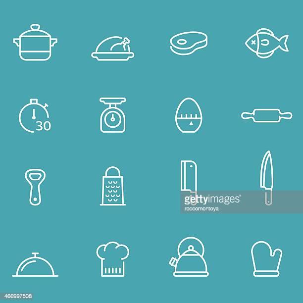 Icon Set, Kitchen