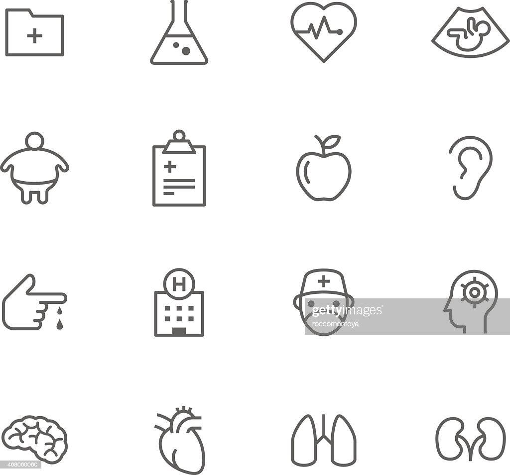 Icon Set, Medicine