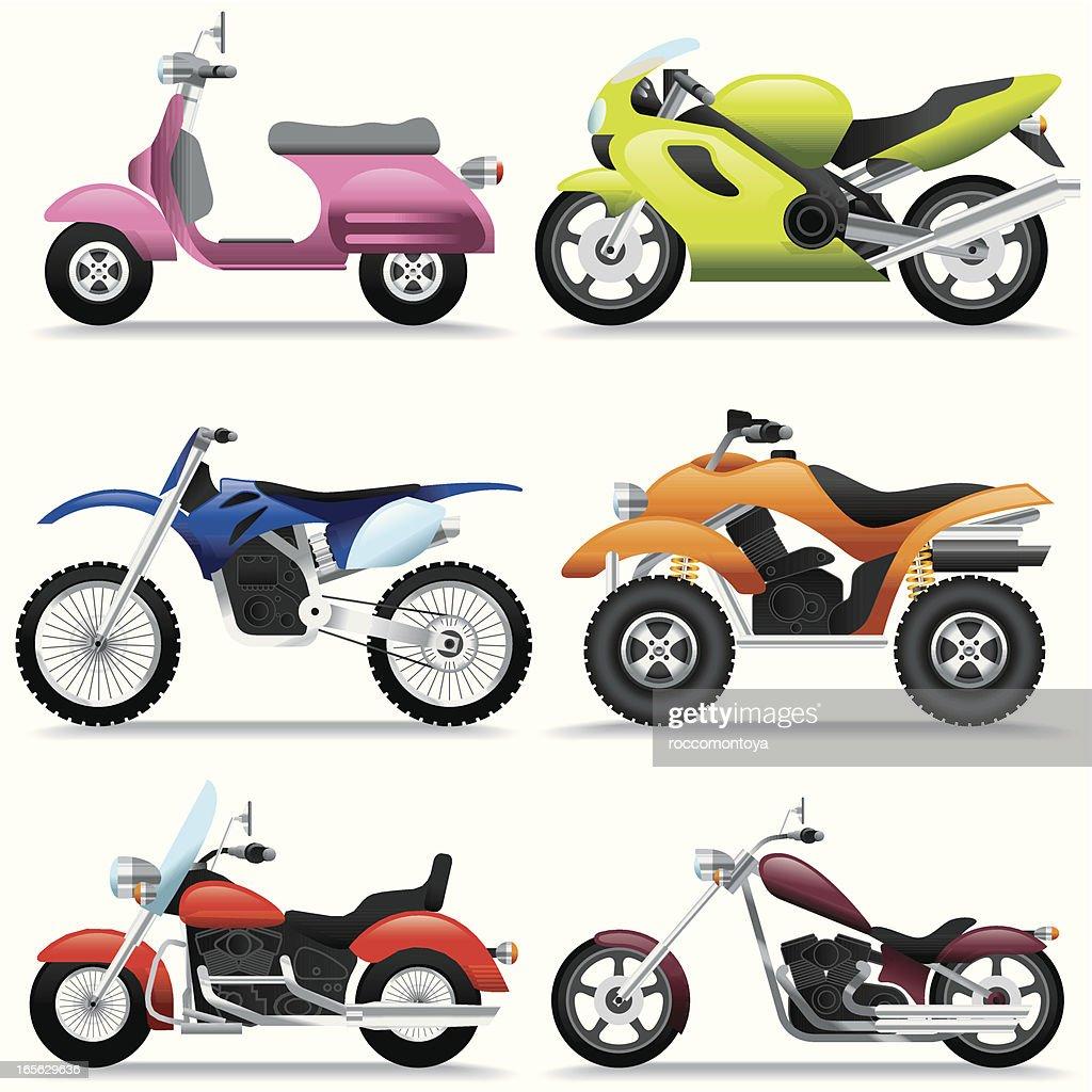 Icon Set, Motorcycles