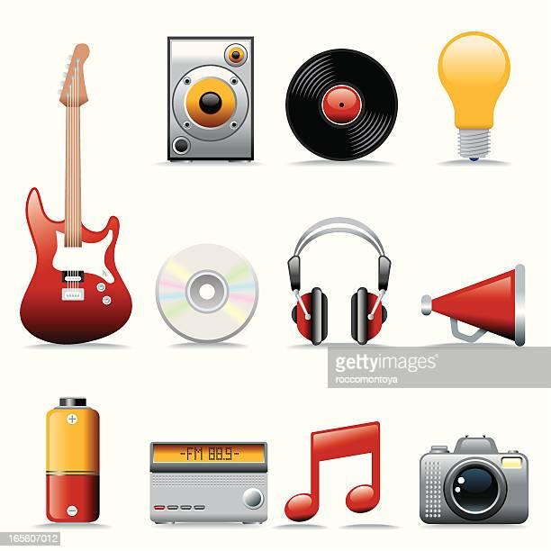 アイコンセット、音楽