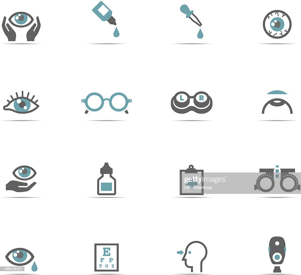 Icon Set, Optometry
