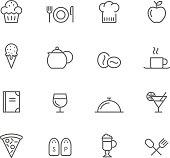 Icon Set, Restaurant