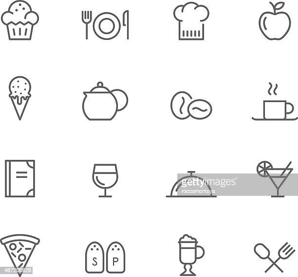 Icon Set, Restaurant