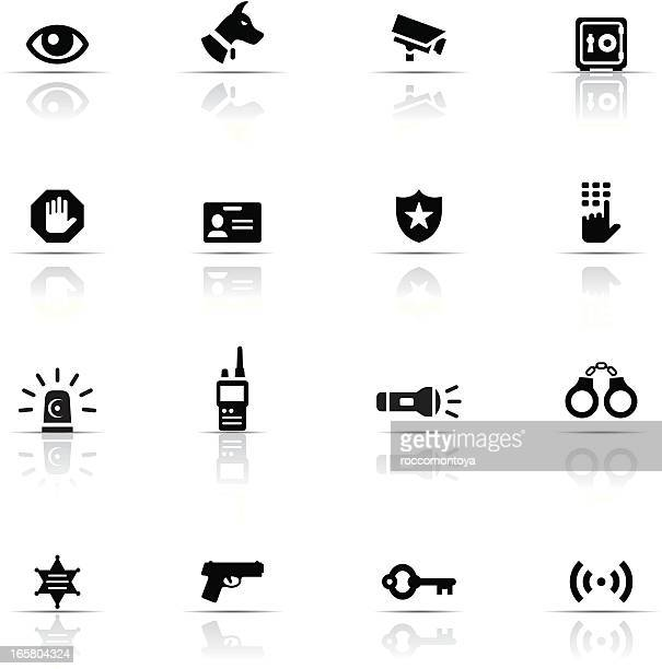 icon set, security - cardkey stock illustrations, clip art, cartoons, & icons