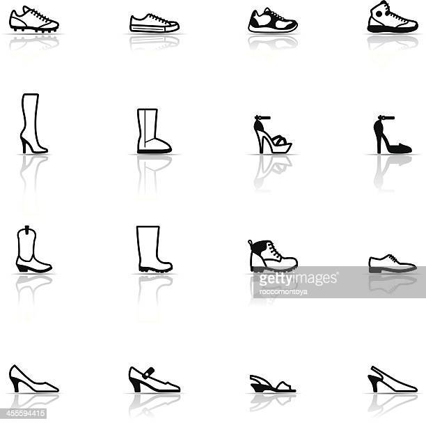 Icon Set, Shoes