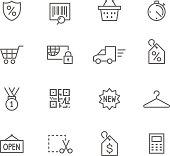 Icon Set, Shopping