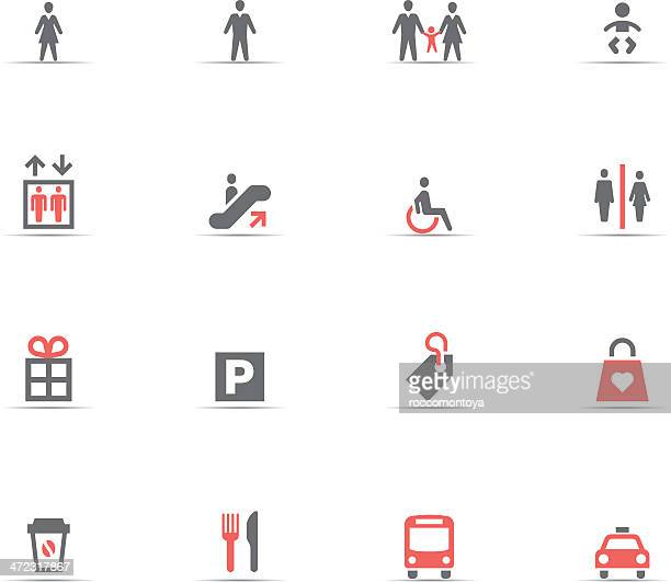 icon set, shopping - bathroom stock illustrations, clip art, cartoons, & icons