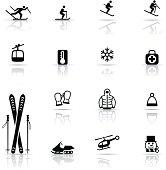 Icon Set, Skiing