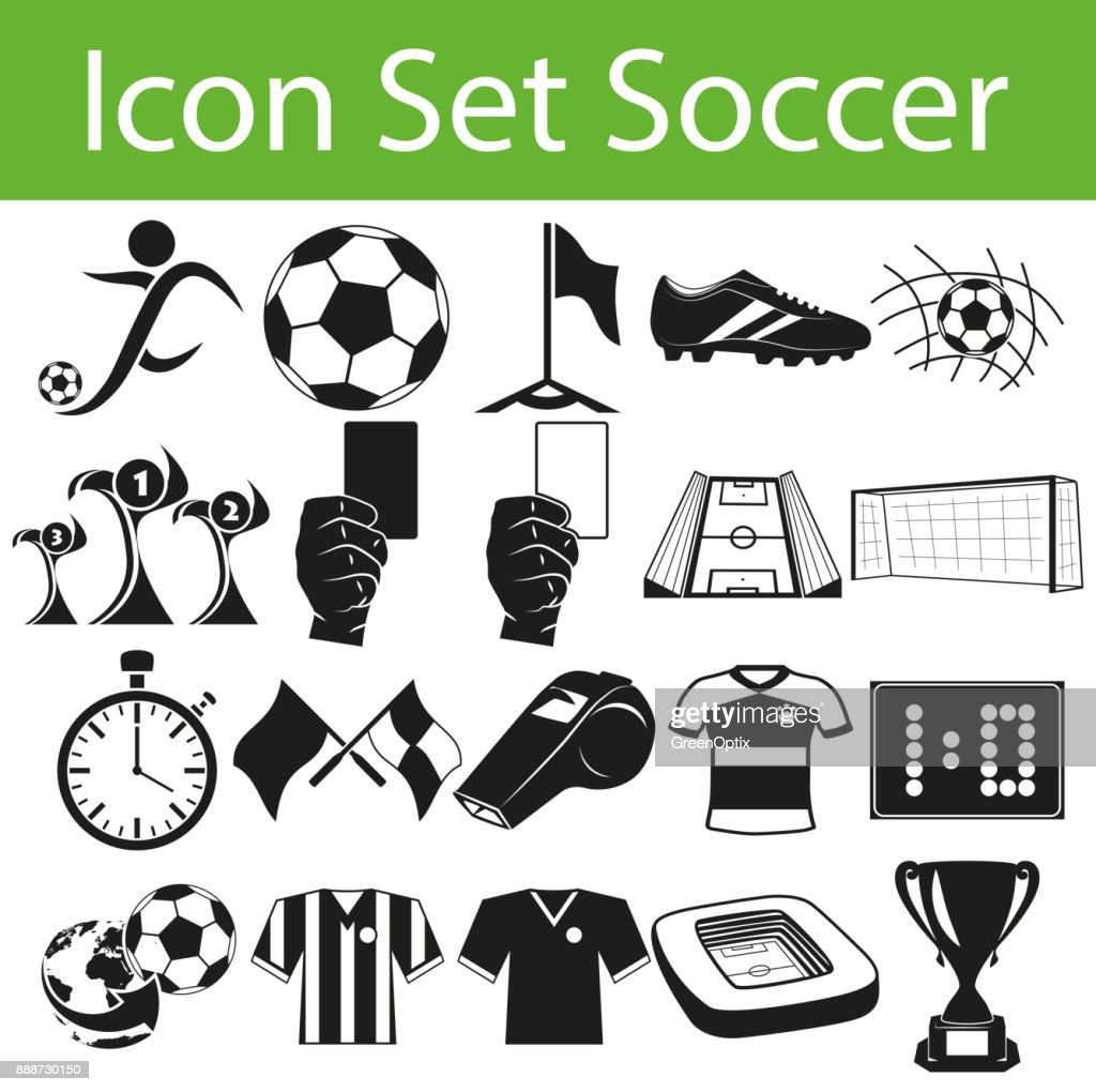 Icon Set Soccer