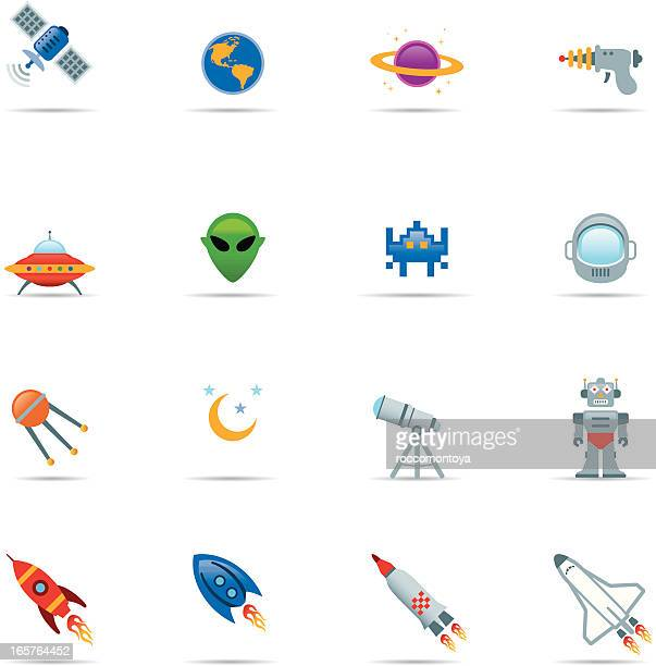 Icon set, Space Color