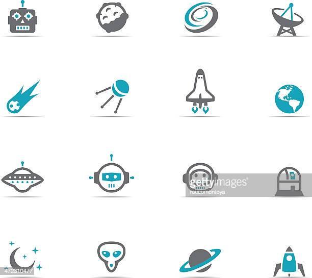 Icon Set, Space
