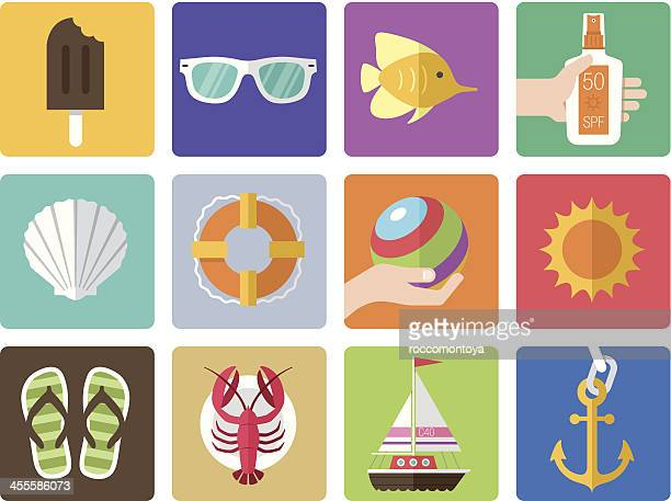 Icon Set, Summer