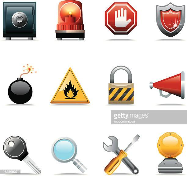 Conjunto de iconos web, tecnología