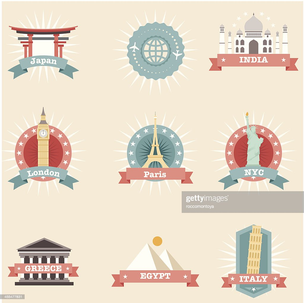 Icon Set, Travel Concepts