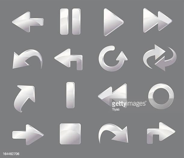 Icon set White