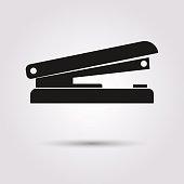 Icon stapler.