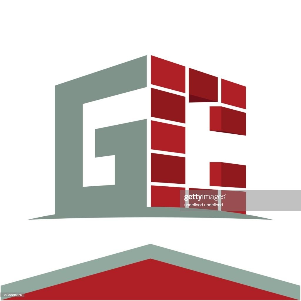 Icon symbol for construction business with initials combination of icon symbol for construction business with initials combination of letters g and c vector art buycottarizona Image collections
