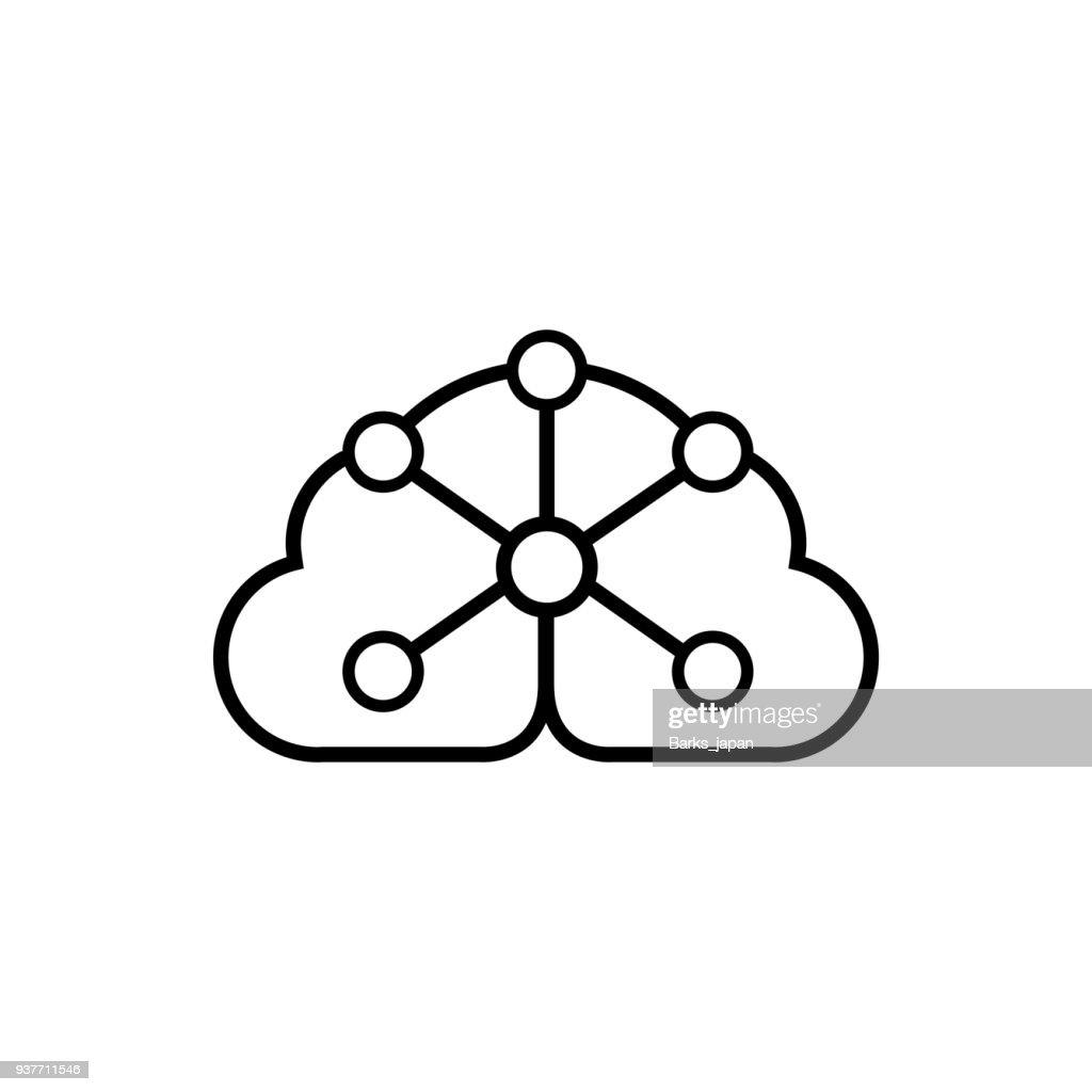 AI (Artificial Intelligence) icon