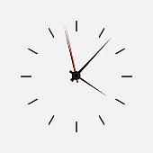 Icon watch vector illustration