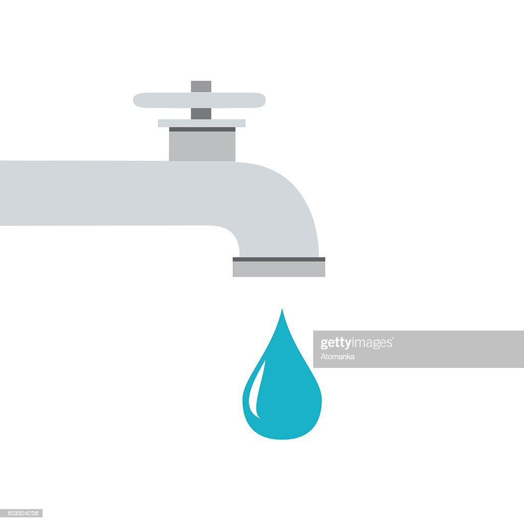 Icon water tap