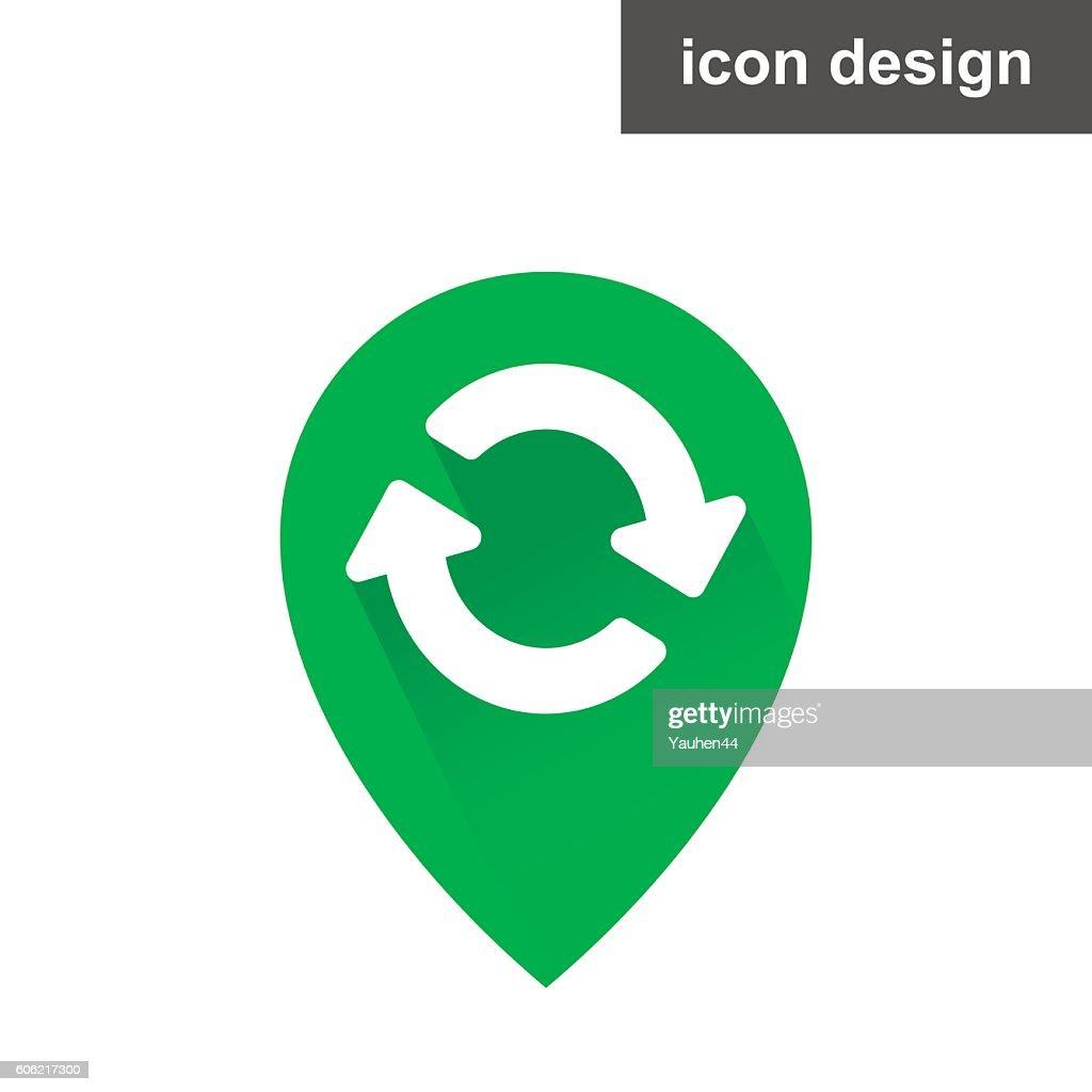 Icon waypoint updated
