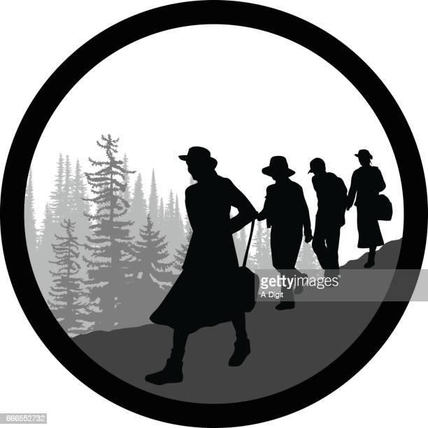 Emblemático grupo senderismo