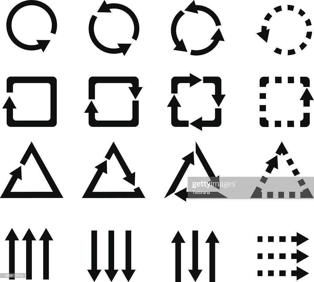 Icons arrow