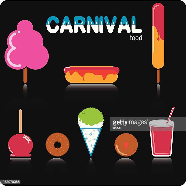 Icons - Carnival Food