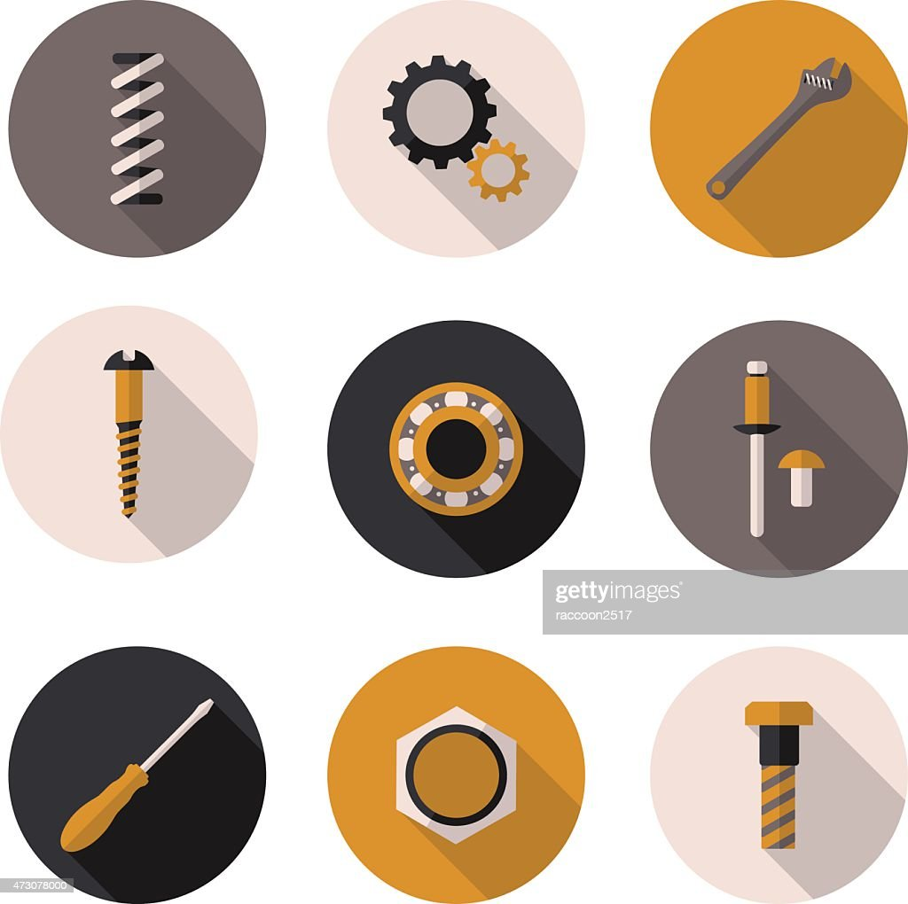 icons fasteners