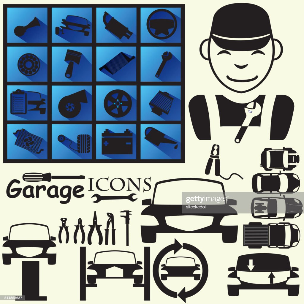 Icons for garage part 1