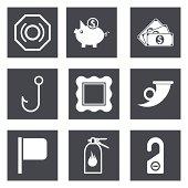 Icons for Web Design set 14