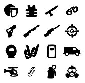 SWAT Icons Freehand Fill